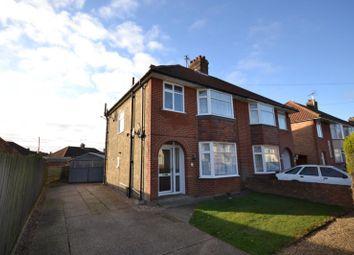 Thumbnail 3 bedroom semi-detached house to rent in Theberton Road, Ipswich