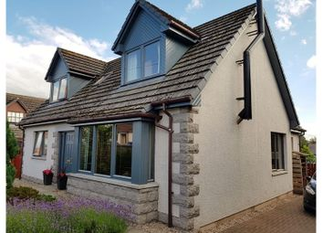Thumbnail 4 bed detached house for sale in Robertson Road, Elgin