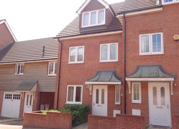 Thumbnail 4 bedroom town house to rent in Jerome Street, Whiteley, Fareham