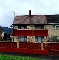 Thumbnail 3 bed semi-detached house to rent in Craig Nedd, Glynneath, Neath
