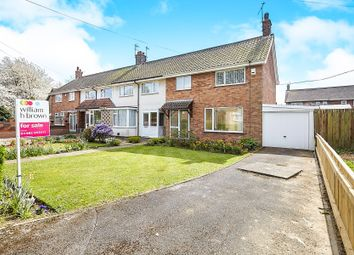 Thumbnail 3 bed end terrace house for sale in Burton Road, Cottingham