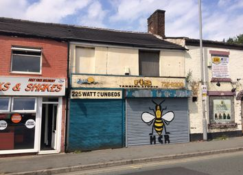Thumbnail Retail premises for sale in Water Street, Radcliffe, Greater Manchester