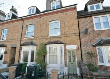 Thumbnail 3 bed terraced house to rent in Somerset Road, Redhill