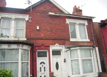 Thumbnail 3 bed end terrace house for sale in Washwood Heath Road, Ward End, Birmingham, West Midlands