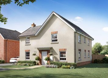 "Thumbnail 4 bedroom detached house for sale in ""Alderney"" at Briggington, Leighton Buzzard"
