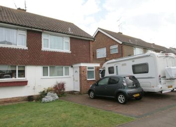 Thumbnail 3 bed semi-detached house to rent in Highdown Drive, Littlehampton