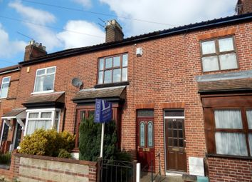 Thumbnail 2 bed terraced house to rent in Sigismund Road, Norwich
