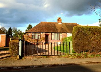 Thumbnail 3 bed semi-detached bungalow for sale in Market Drayton Road, Loggerheads, Market Drayton