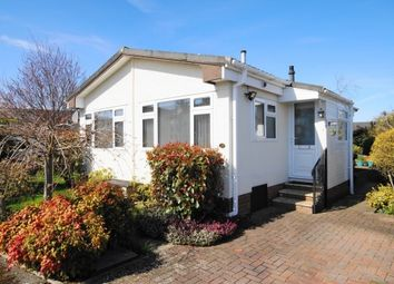 Thumbnail 1 bedroom mobile/park home for sale in Selwood Park, Weymans Avenue, Bournemouth