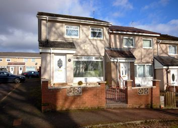 Thumbnail 2 bed end terrace house for sale in Bernadette Crescent, Carfin, Motherwell