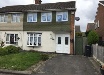 Thumbnail 3 bedroom semi-detached house to rent in Russells Hall Road, Dudley