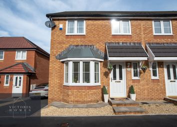 Thumbnail 3 bed semi-detached house for sale in Walnut Close, Tredegar