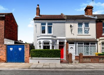 Thumbnail 3 bed end terrace house for sale in Canterbury Road, Southsea