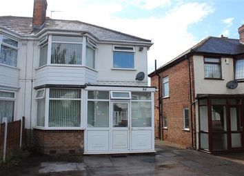 Thumbnail 3 bed semi-detached house for sale in Millington Road, Hodge Hill, Birmingham