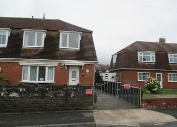 Thumbnail 3 bed semi-detached house for sale in Swn Y Mor, Port Talbot, Neath Port Talbot.