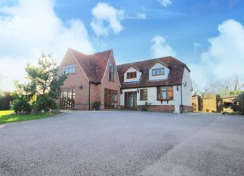 Thumbnail 5 bed detached house for sale in North Road, Havering-Atte-Bower, Romford
