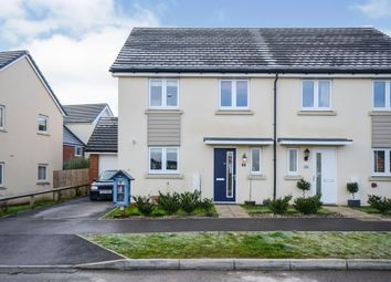 Thumbnail 4 bed semi-detached house for sale in Mcnamara Street, Longhedge, Salisbury