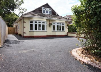 Thumbnail 4 bed detached bungalow for sale in Old Barn Road, Christchurch