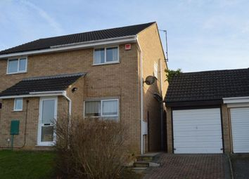 Thumbnail 2 bed semi-detached house for sale in Chatsworth Avenue, Goldenash, Northampton