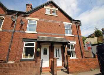 Thumbnail 3 bed end terrace house for sale in Cruso Street, Leek, Staffordshire