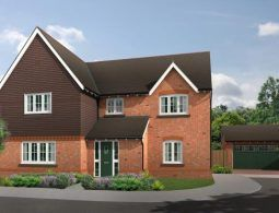 Thumbnail 5 bed detached house for sale in The Halstead, The Hawthorns, Common Lane, Lach Dennis, Northwich, Cheshire