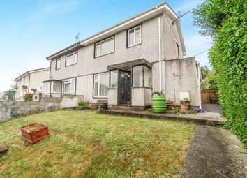 3 bed semi-detached house for sale in Cobbett Road, Plymouth PL5