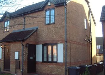 Thumbnail 2 bed semi-detached house to rent in Ivybridge Close, Oakwood, Derby