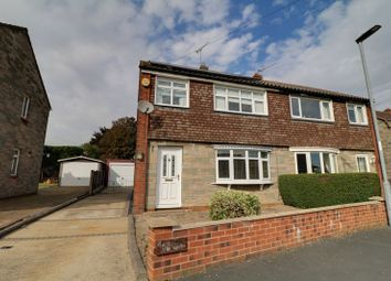 Thumbnail 3 bed semi-detached house to rent in St. Hybalds Grove, Scawby, Brigg