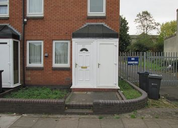 Thumbnail 2 bedroom end terrace house for sale in Dolobran Road, Sparkbrook, Birmingham