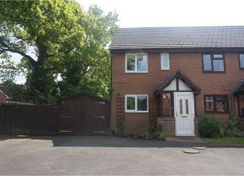Thumbnail 2 bed end terrace house for sale in Hazeltree Grove, Solihull