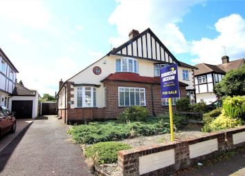 Thumbnail 3 bed semi-detached house for sale in Melville Road, Sidcup, Kent