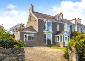 Thumbnail 5 bedroom semi-detached house for sale in Overton Lane, Port Eynon, Gower