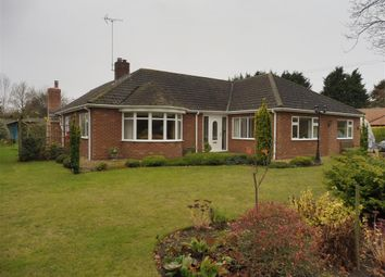 Thumbnail 3 bedroom detached bungalow for sale in Frognall, Deeping St. James, Peterborough