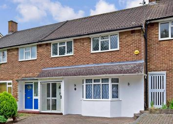 Thumbnail 3 bed terraced house for sale in Merefield Gardens, Tadworth, Surrey