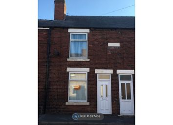 Thumbnail 2 bed terraced house to rent in Frederick Street, Grassmoor, Chesterfield