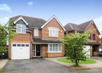 Thumbnail 4 bedroom detached house for sale in Trillium Close, Hamilton, Leicester