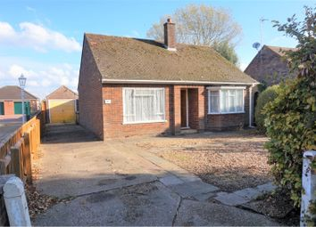 Thumbnail 2 bed detached bungalow for sale in Wimblington Road, March