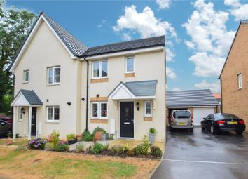 Thumbnail 3 bed semi-detached house for sale in Pintail Close, Bude