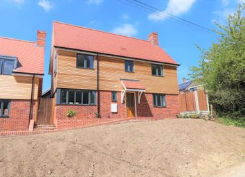 Thumbnail 3 bedroom detached house to rent in Churchfield, Monks Eleigh, Ipswich, Suffolk