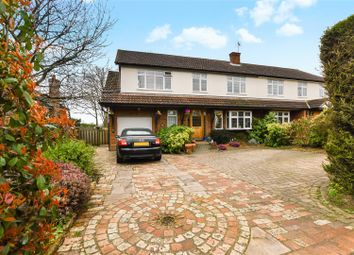 Thumbnail 5 bed property for sale in The Ridgeway, St.Albans