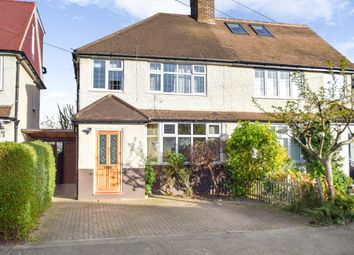 Thumbnail 3 bed semi-detached house to rent in Wordsworth Road, Addlestone