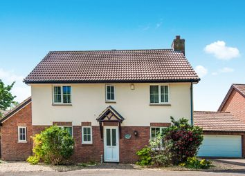 Thumbnail 4 bed detached house for sale in Monkerton Drive, Exeter