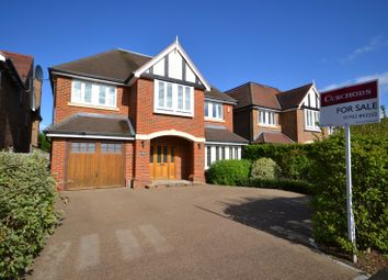 Thumbnail 5 bed detached house for sale in Castle Road, Weybridge