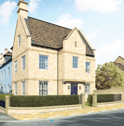 Thumbnail 3 bed detached house for sale in Kettering Road, Stamford