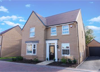 Thumbnail 4 bed detached house for sale in Chandlers Square, Godmanchester