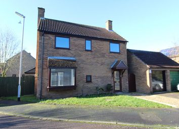 Thumbnail 4 bed detached house to rent in The Pightle, Grafham, Huntingdon