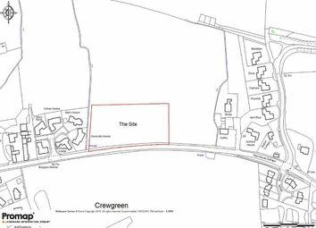 Thumbnail Land for sale in Belin Mount, Crew Green, Shrewsbury
