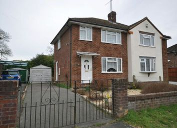 Thumbnail 2 bed semi-detached house for sale in Nightingale Road, Woodley, Reading
