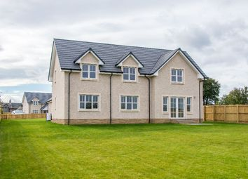 Thumbnail 5 bed detached house for sale in Marlefield Grove, Tibbermore, Perth