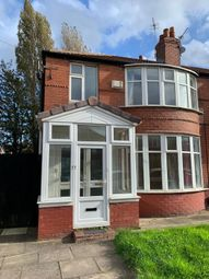 3 bed semi-detached house to rent in Fairholme Road, Withington, Manchester M20